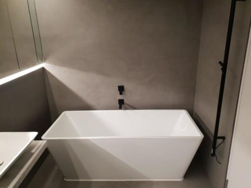 ClaudiCemento Microcement Fine matt finish, medium grey colour