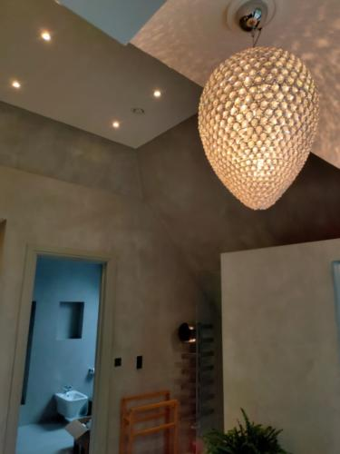 Microcement on the walls and ceilings by SOBO